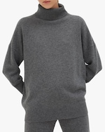 Chinti and Parker Cashmere Rollneck Sweater 0