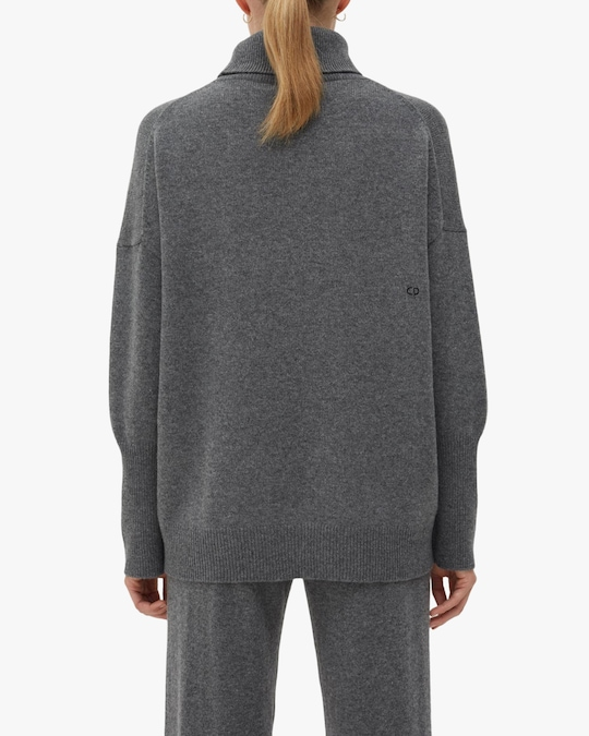 Chinti and Parker Cashmere Rollneck Sweater 1