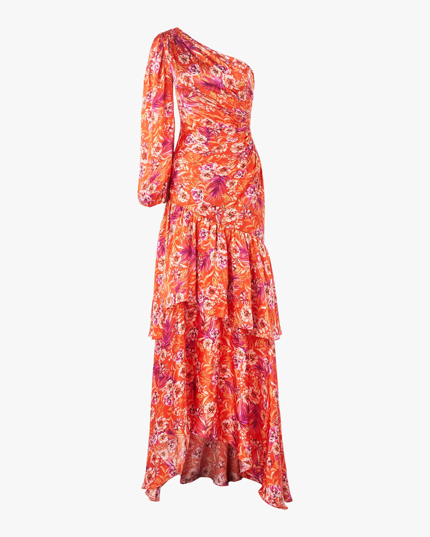 Amur Israella One-Shoulder Dress 0