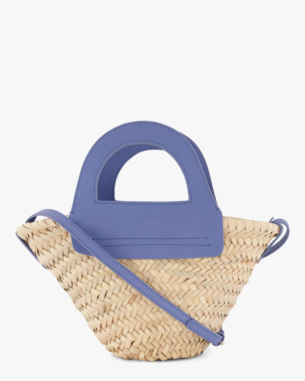 Cabas Mini Straw Bag