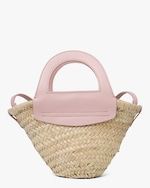 Hereu Cabas Mini Straw Bag 0