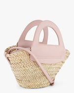 Hereu Cabas Mini Straw Bag 1
