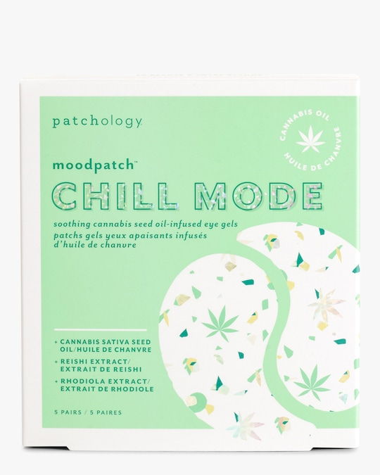 Patchology Moodpatch Chill Mode Cannabis Seed Oil- Infused Eye Gels 0