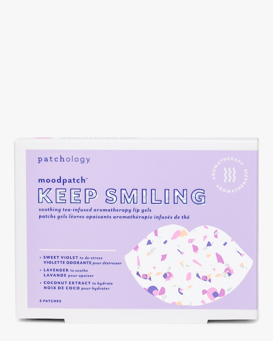 Patchology Moodpatch Keep Smiling Aromatherapy Lip Gels 0