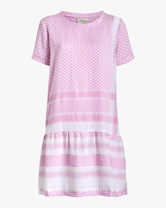 Short-Sleeve Shift Dress