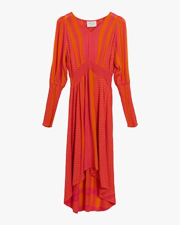 Lorentia Midi Dress