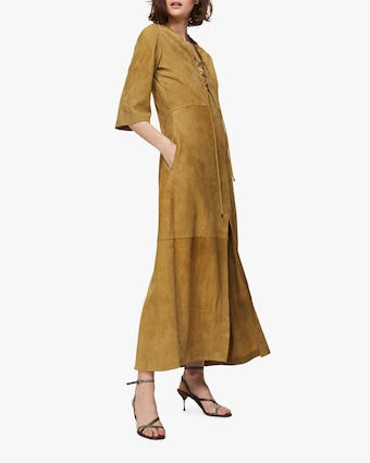 Velour Softness Maxi Dress