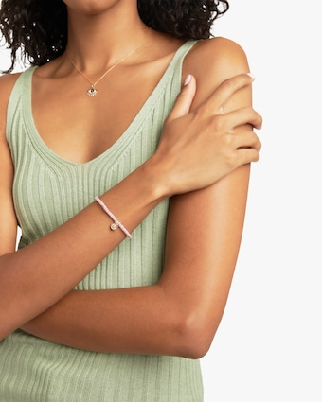 Small Marquise Eye Charm Bracelet