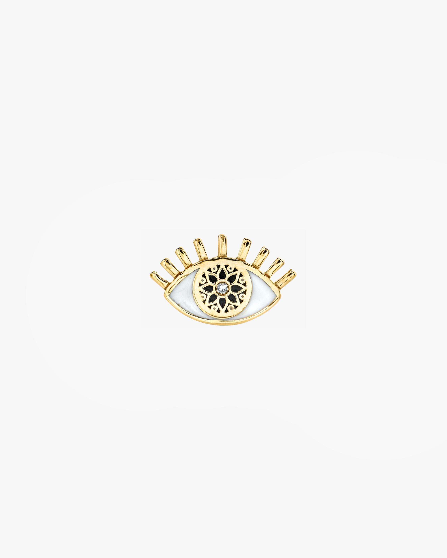 Sydney Evan Kaleidoscope Eye Single Stud Earring 1