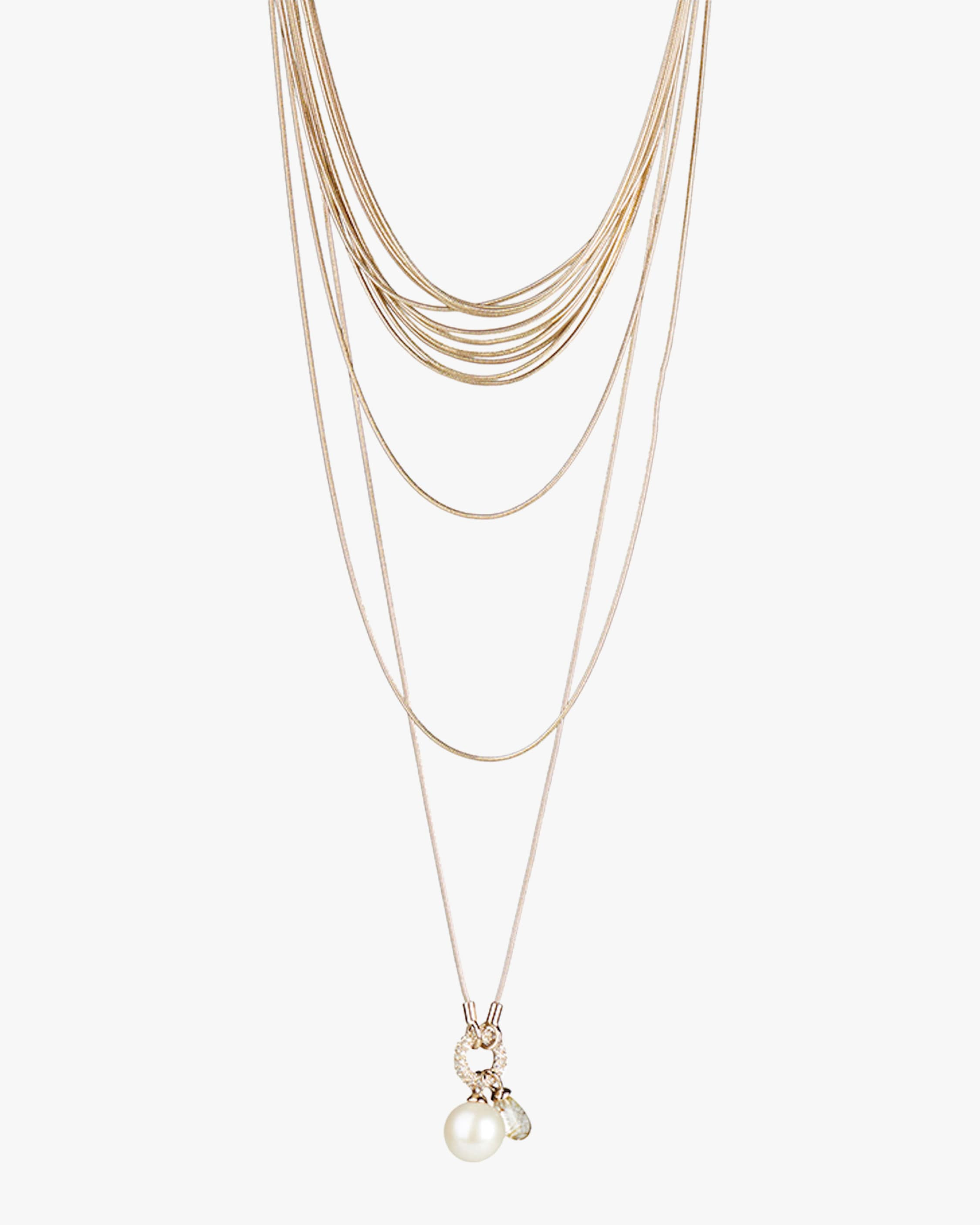 Carolee Kate Multi-Row Layered Necklace 1