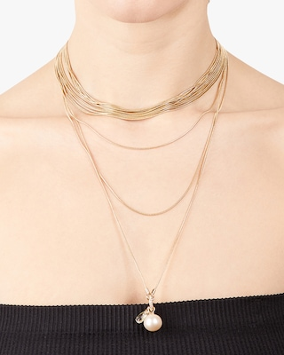 Carolee Kate Multi-Row Layered Necklace 2