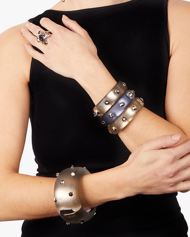 Octagon-Studded Hinge Bracelet