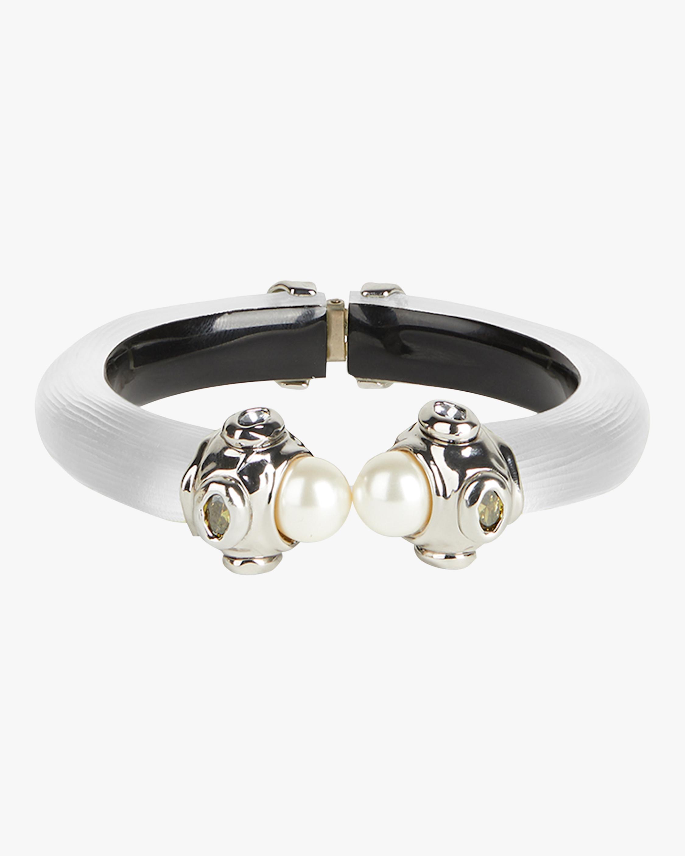 Byzantine Stone-Capped Hinge Bracelet