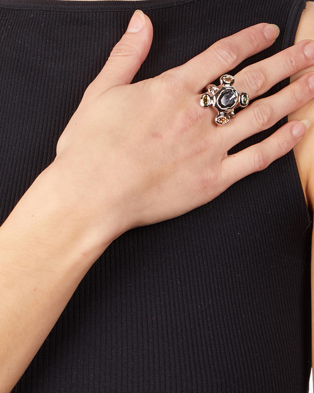 Byzantine Stone Cluster Ring
