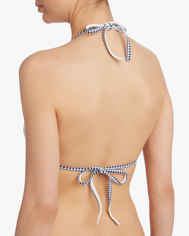 Sofia Triangle String Bikini Top