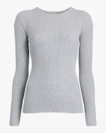 Oyun Crew Neck Ribbed Top 0