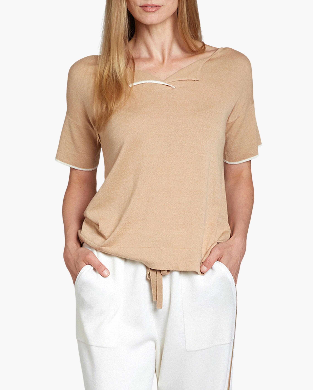 Oyun Split Neck T-Shirt 3