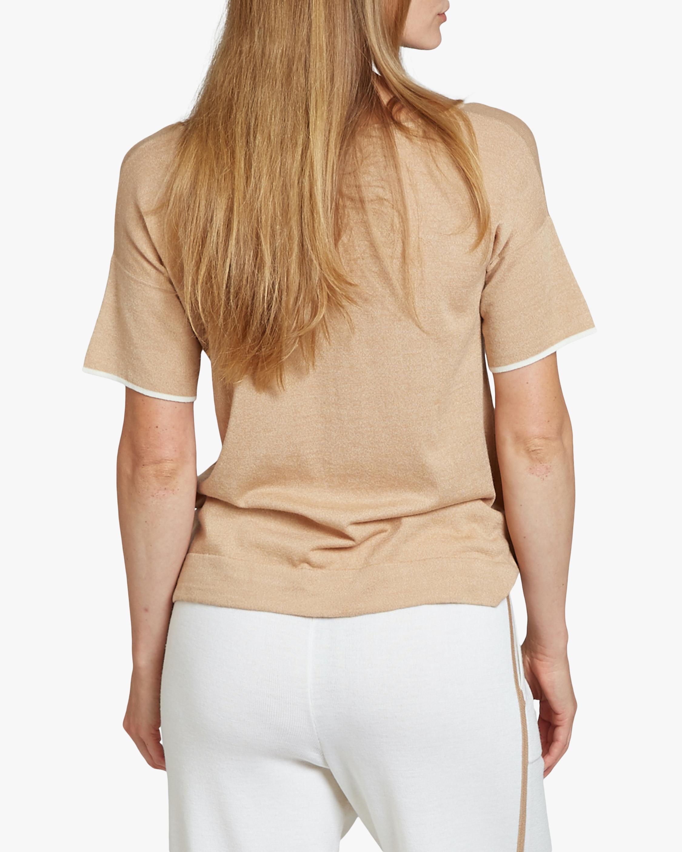 Oyun Split Neck T-Shirt 4