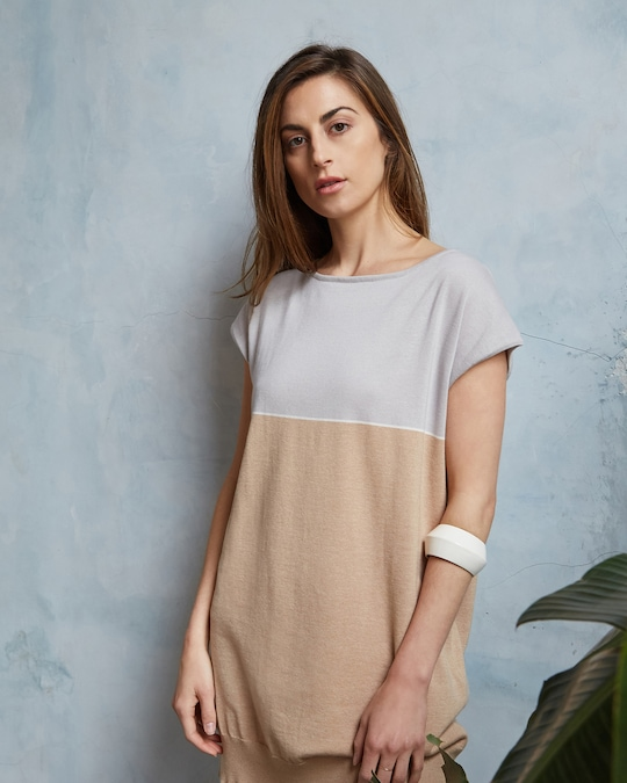 Oyun Drop Shoulder T-Dress 1