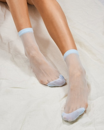 Opaque-Toe Socks