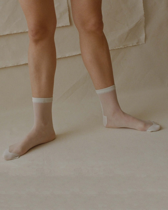 The Great Eros Opaque-Toe Socks 1