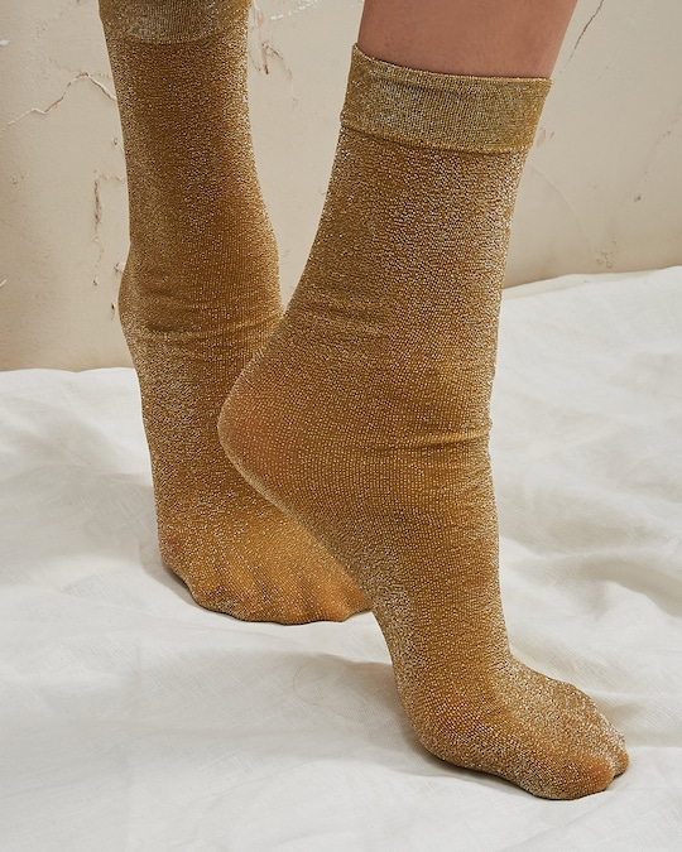 The Great Eros Lurex Socks 1