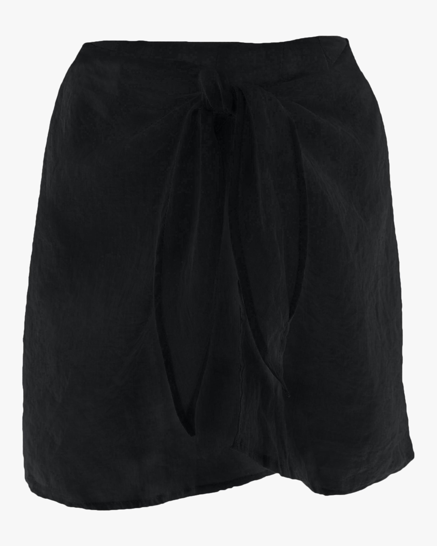 The Wrap Mini Skirt