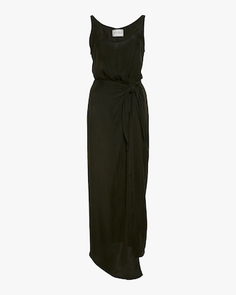 The D.K. Wrap Maxi Dress