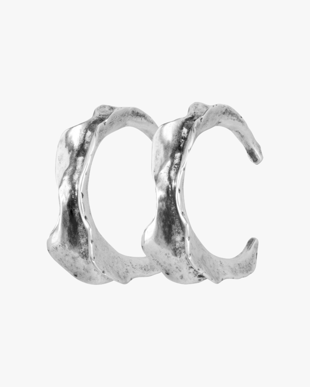 UNOde50 Swaggy Hoop Earrings 1