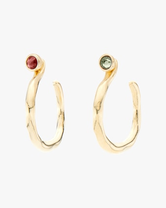 UNOde50 Protected Hoop Earrings 1