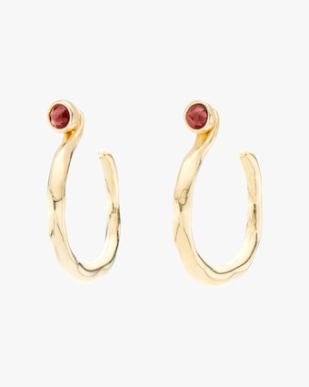UNOde50 Protected Hoop Earrings 2