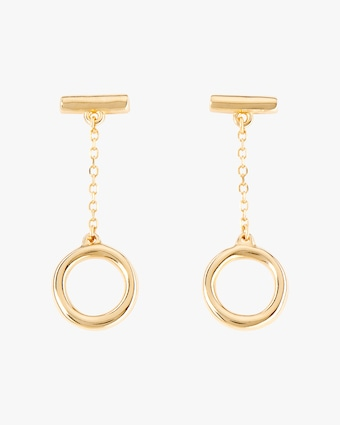UNOde50 Off/On Drop Earrings 2