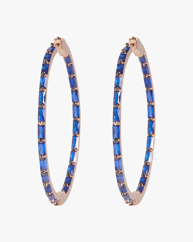 Nickho Rey French Hoop Earrings 0