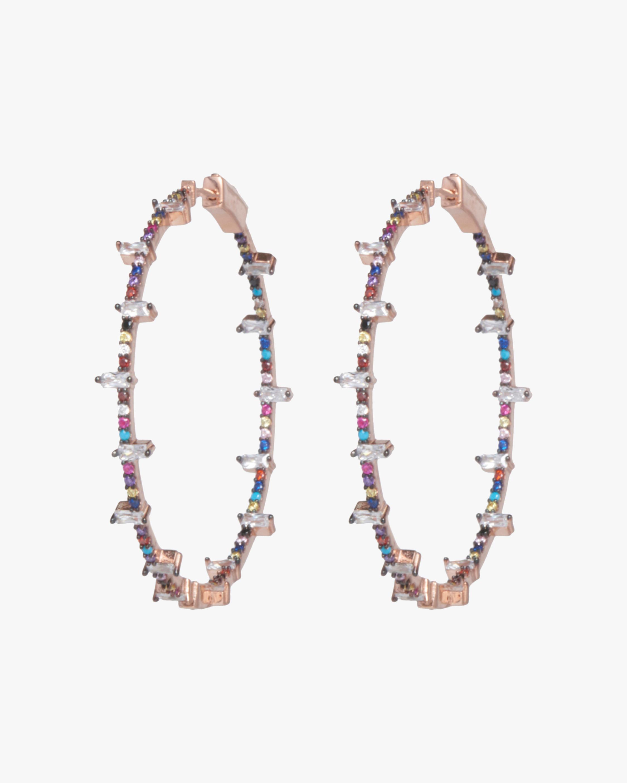 Nickho Rey Jacob Hoop Earrings 0