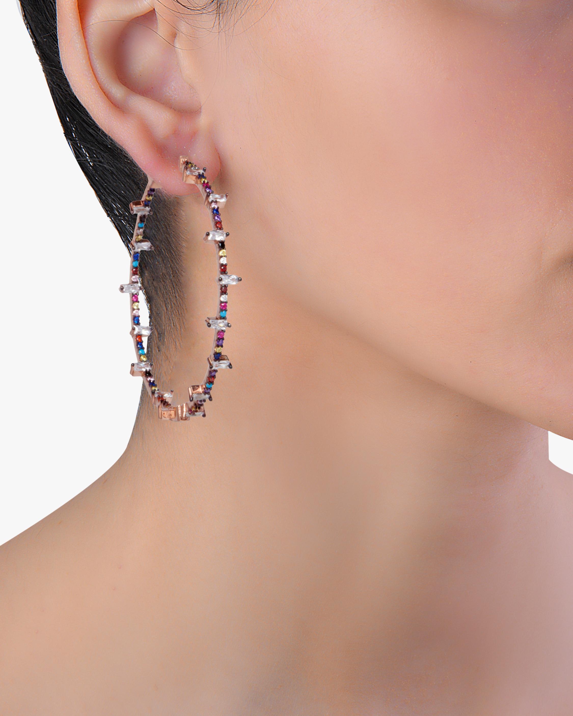 Nickho Rey Jacob Hoop Earrings 1