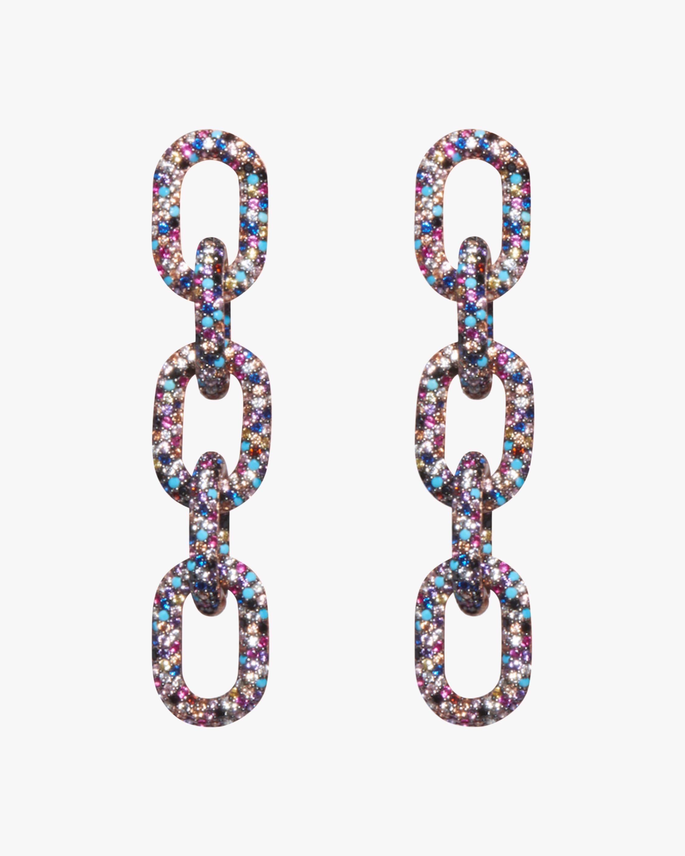 Nickho Rey Link Drop Earrings 0