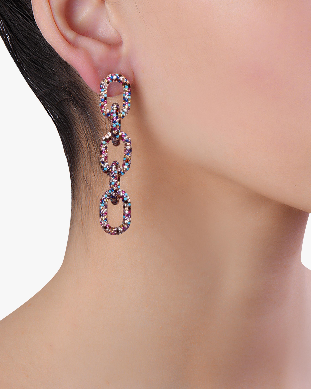 Nickho Rey Link Drop Earrings 1