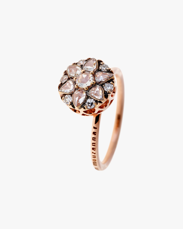 Selim Mouzannar Diamond Cluster Ring 1