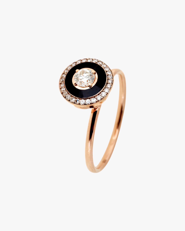 Selim Mouzannar Diamond Trim Enamel Ring 1