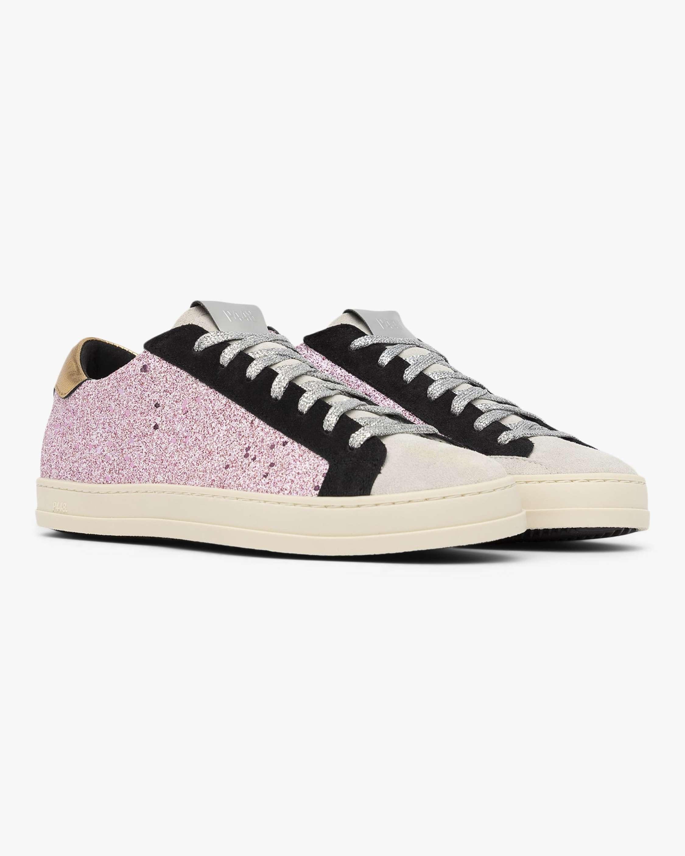 John Pink Glitter Sneaker