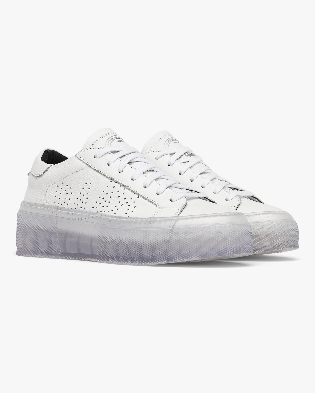 P448 Louise White Sneaker 0