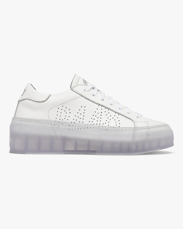 P448 Louise White Sneaker 1