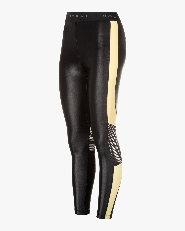 Koral Emblem Infinity High-Rise Cropped Leggings 1