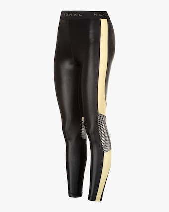 Koral Emblem Infinity High-Rise Cropped Leggings 1