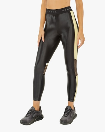 Koral Emblem Infinity High-Rise Cropped Leggings 2