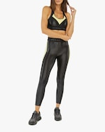 Koral Emblem Infinity High-Rise Cropped Leggings 4