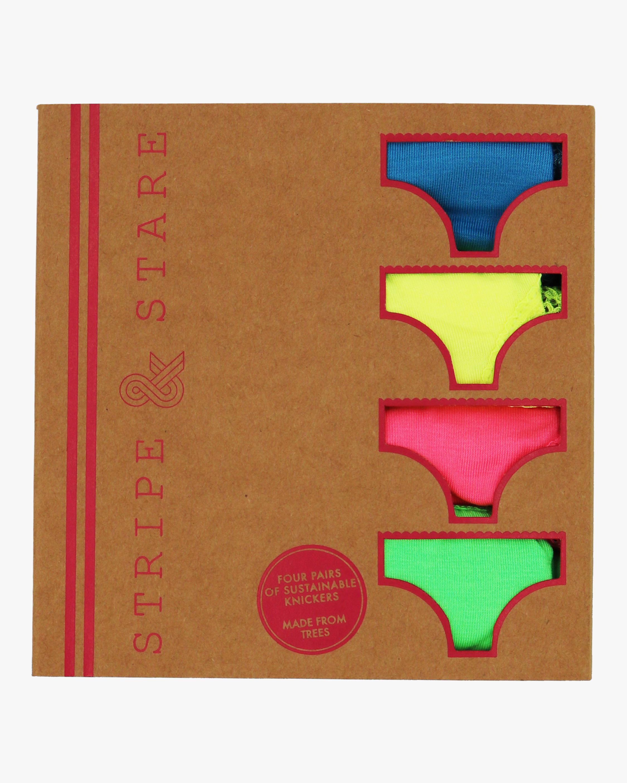 Stripe & Stare Neons Knicker Box 4PK 2