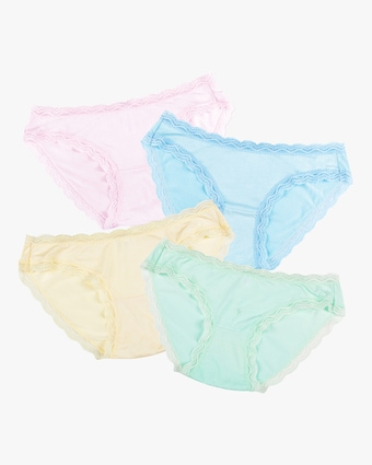 Spring Pastels Knickers Box Set 4PK