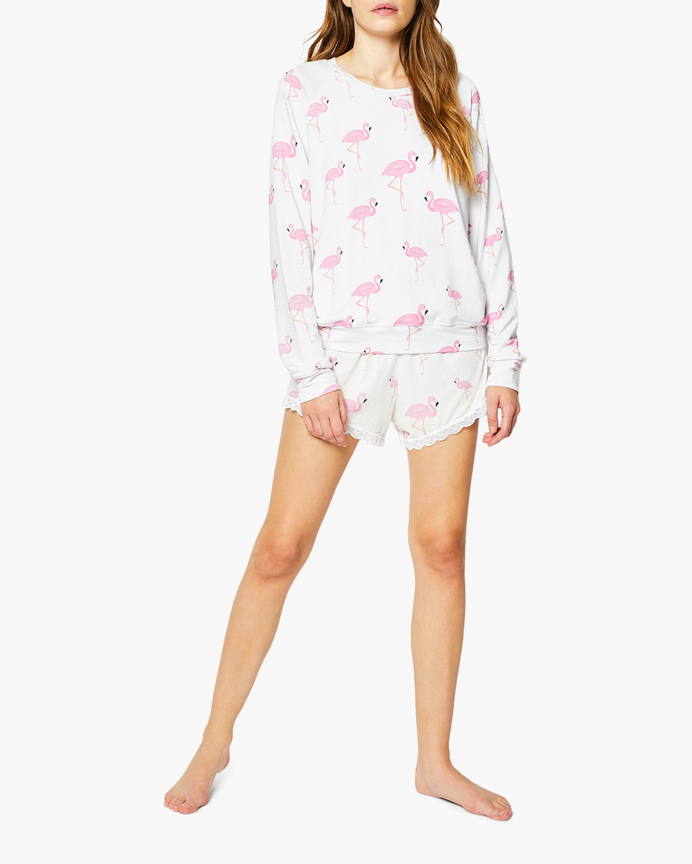 Stripe & Stare Flamingo Sweatshirt 0