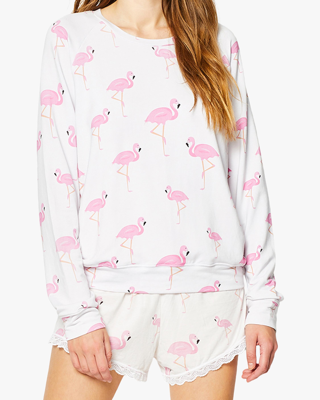Stripe & Stare Flamingo Sweatshirt 1